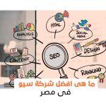 ما هي افضل شركة سيو في مصر؟